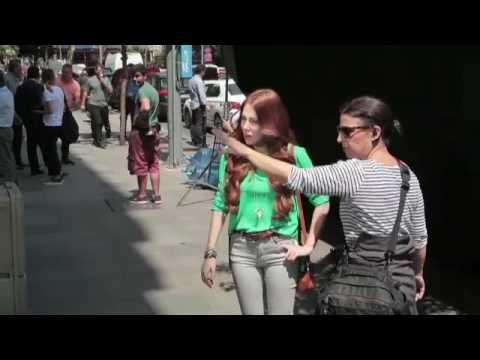 Elçin Sangu Elidor Çekimleri Kamera Arkası