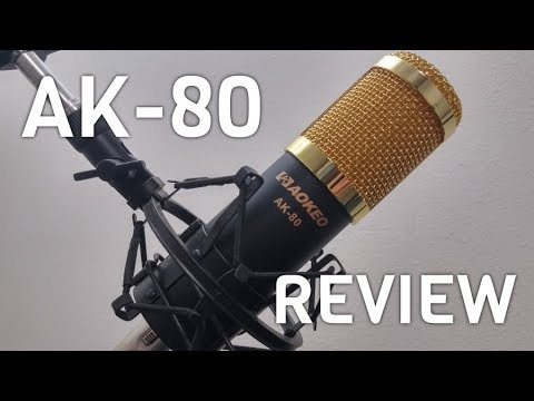 Aokeo AK-80 Professional Studio Broadcasting & Computer Recording Microphone Review