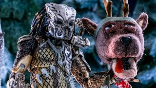 Predator vs Santa Clause Funny Short Movie - THE PREDATOR (2018)