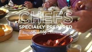 Nava Haus Retreats - Our Food