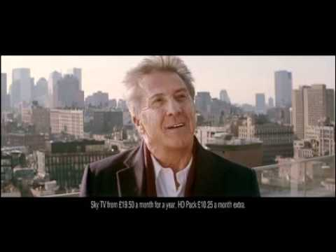 Dustin Hoffman in Sky Atlantic HD launch ad