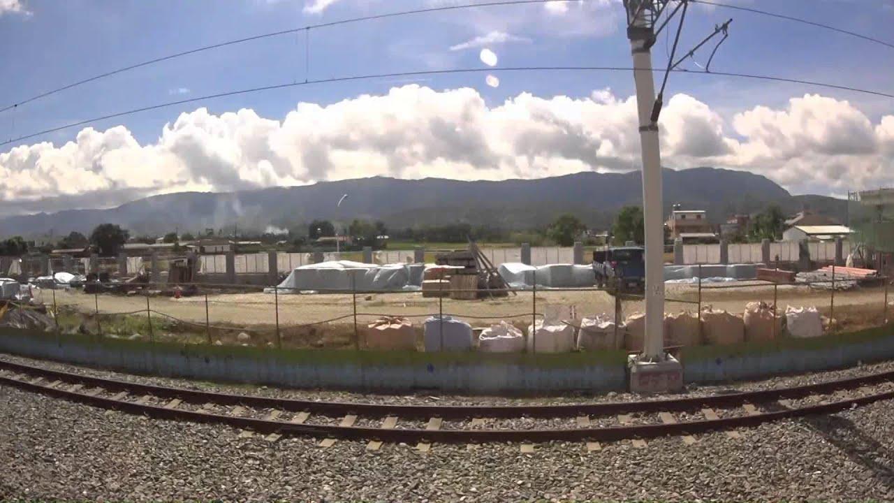 2014 臺東線 臺東車站往瑞穗車站東側沿途風景(五倍速) - YouTube