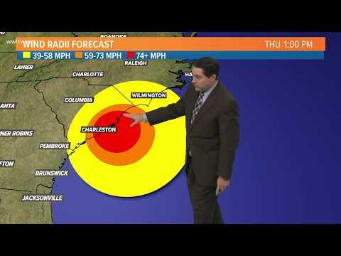 12-pm-wednesday:-hurricane-dorian-track,-model-and-latest-forecast