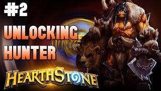 🎮HearthStone - Gameplay #3🎮 Unlocking Hunter