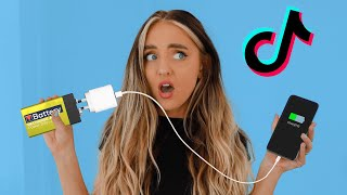 Testing VIRAL TikTok Life Hacks To See If They Work