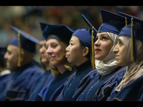 Fall 2016 Graduate Commencement, December 9th