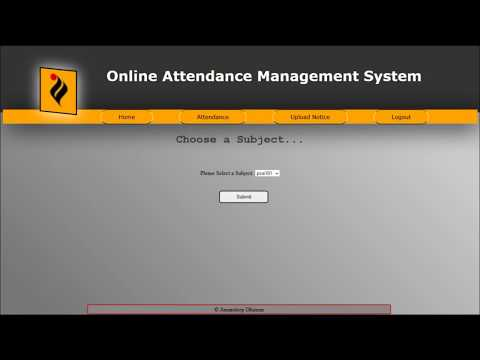 Student performance online monitoring system