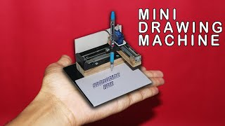 How to make Mini CNC Drawing Machine | Arduino Project