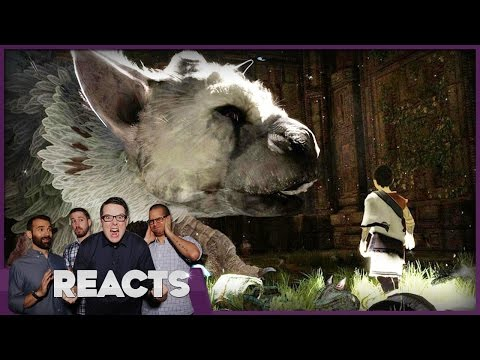 We Played The Last Guardian - Kinda Funny Reacts E3 2016