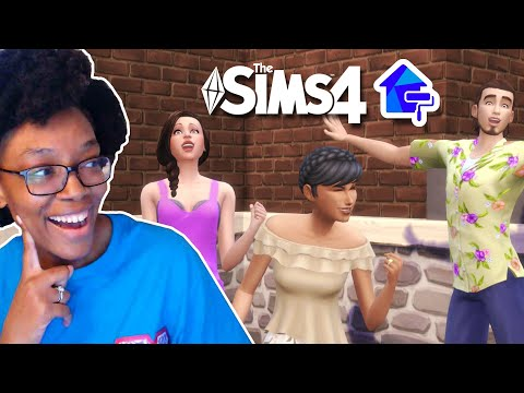 Let's Play The Sims 4 Dream Home Decorator Part 1 | Jackie Redeems Herself In This One |