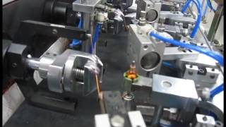 12V small DC motor 3 pole 5 pole armature winding machine WIND ODD 4 Four stations
