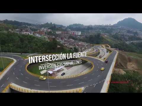 Inauguración Intersección La Fuente en Manizales