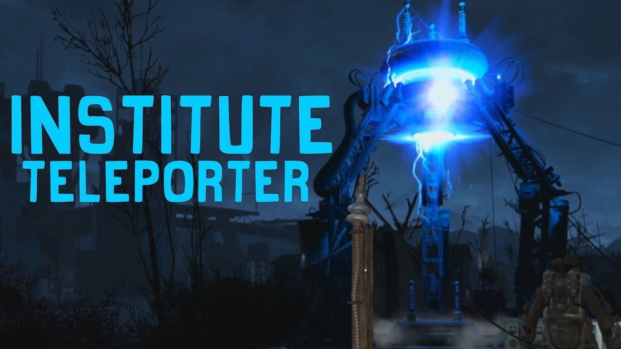 Fallout 4 how to build the institute teleporter tutorial youtube solutioingenieria Image collections