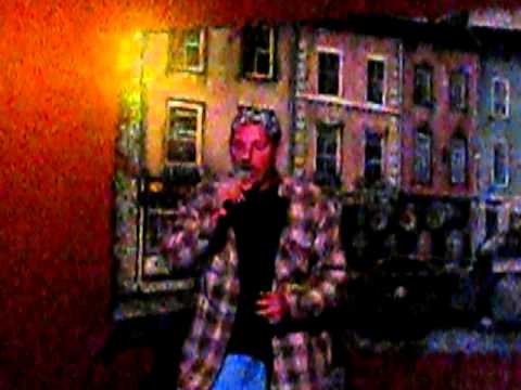 "Dave singing ""I Ran"" by Flock of Seagulls - Karaoke"
