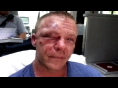 Marine Gets Beat Down Trying to Stop Bullying | Good Morning America | ABC News