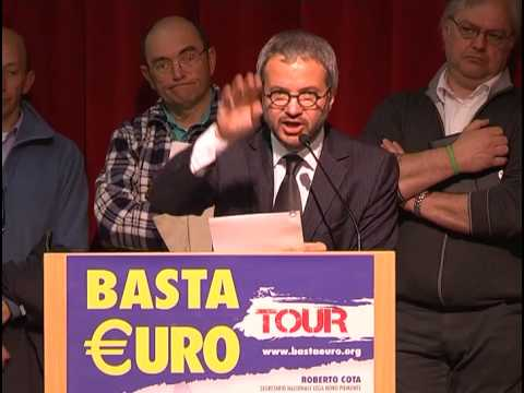 Risultati immagini per claudio borghi basta euro