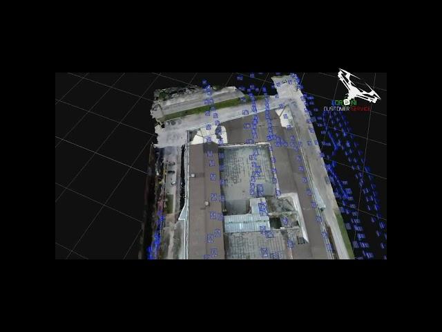 Ricostruzione 3D ex Stabilimento Superal, fotogrammetria aerea con drone di Droni Customer Service