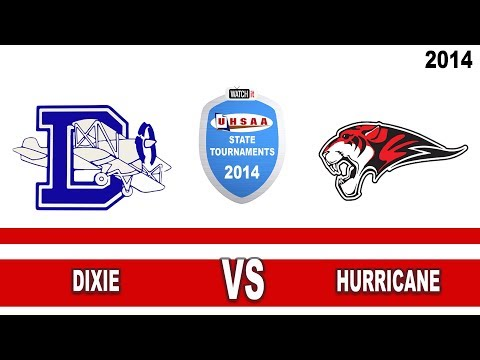 3AA Football: Dixie vs Hurricane High School UHSAA 2014 State Tournament Championship