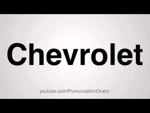 How To Ounce Chevrolet
