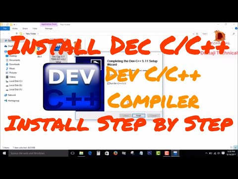 [Hindi] How To Install  Dev C/C++ In Windows 10 || Windows 8 || Windows 7 || Programming Software