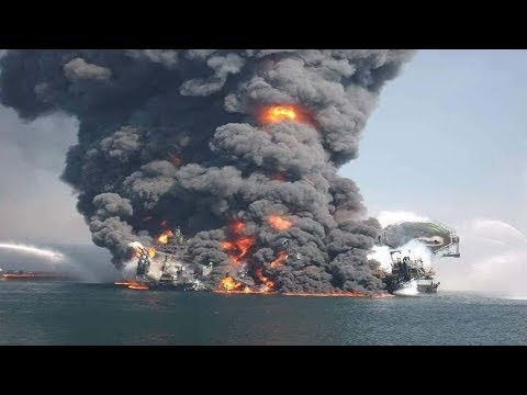 Fire on Gas Tanker During STS Operation