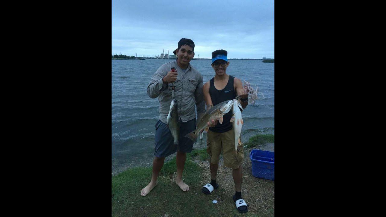 Red fishing catfish blue braunig lake vlog002 for Elias v fishing