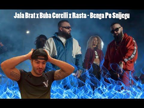 *Reaction* to Jala brat X Buba Corelli X Rasta - Benga Po Snijegu (Balkan music)