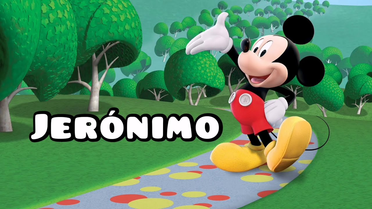Download Canción feliz cumpleaños JERÓNIMO con MICKEY MAUSE - Diviértete cantando y bailando