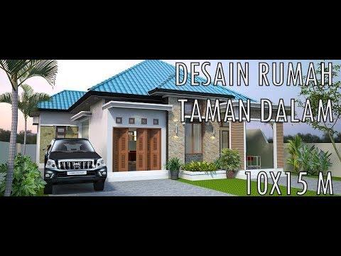 DESAIN RUMAH DENGAN TAMAN DALAM #4 KAMAR TIDUR - YouTube