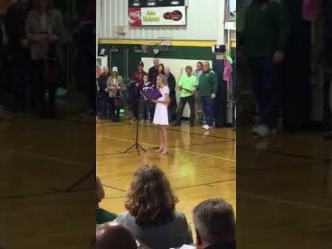 Avery sings Lady of Knock