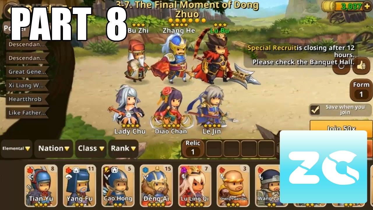 Kingdom Story Brave Legion Android IOS Walkthrough Part 8 Gameplay HD