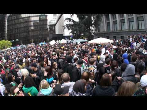 420 Vancouver 2011, REGGAE MUSIC, GoPro HERO HD