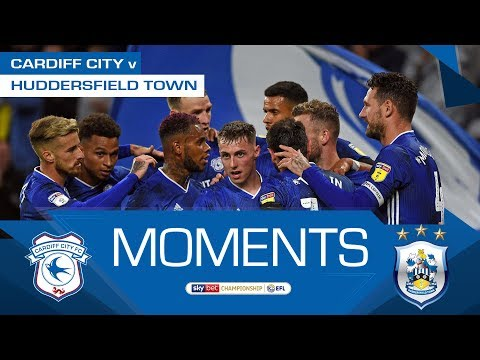 HIGHLIGHTS | CARDIFF CITY v HUDDERSFIELD TOWN