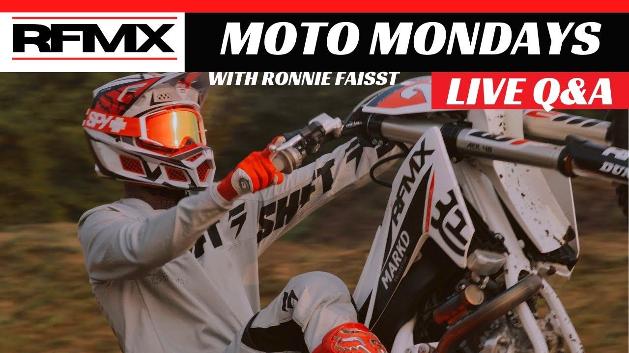 MOTO MONDAY / LIVE WITH RONNIE FAISST