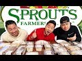 EATING EVERYTHING AT SPROUTS FARMERS MARKET // Fung Bros