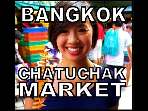 Bangkok Chatuchak Weekend Market (Jatujak) 9000 stalls, 28 acres.