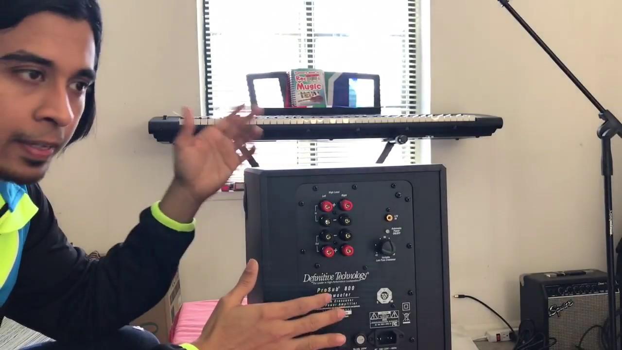 Definitive Technology ProSub 800 Subwoofer