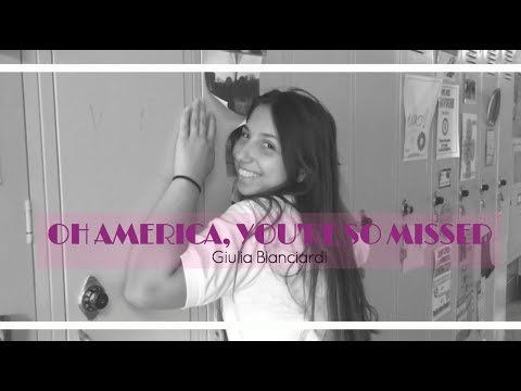 What I miss about America | Giulia...