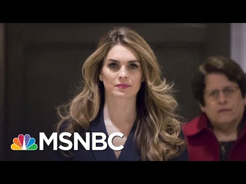 Hope Hicks Reportedly Admits Telling 'White Lies' For President Donald Trump | The Last Word | MSNBC