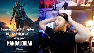 "The Mandalorian 2x8 REACTION!!!! ""Chapter 16: The Rescue"""""
