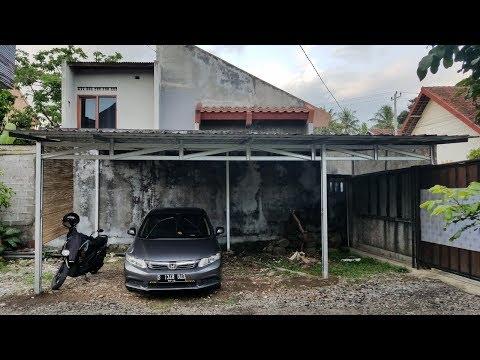 Baja Ringan Untuk Garasi Mobil Cara Mudah Pasang Rangka Atap Wirama Truss Youtube