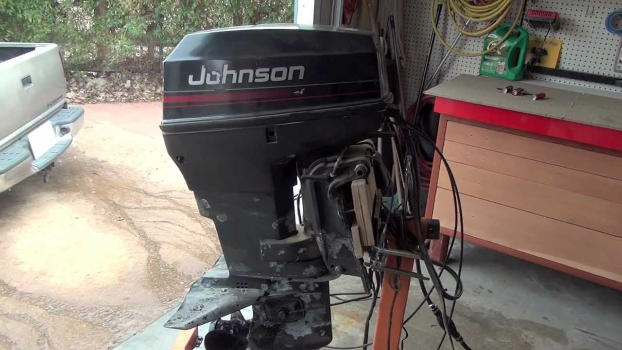 Johnson 1996 40hp Outboard Engine Short Shaft Not Started