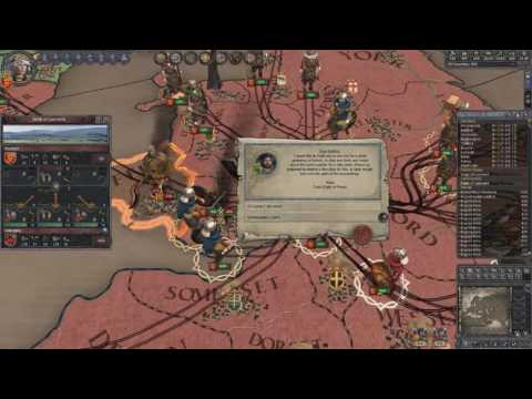 Crusader Kings 2 Ironman Timelapse, From Duke of Essex to Emperor of Britannia 4/7