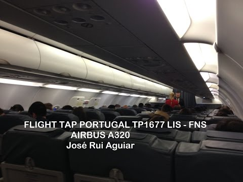 Flight TAP Portugal Airbus A320 Lisbon LIS Airport to Madeira Airport FNC