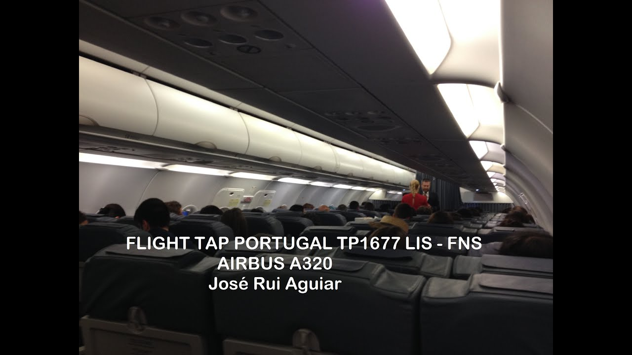 Flight Tap Portugal Airbus A320 Lisbon Lis Airport To Madeira