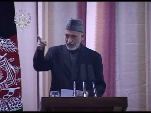President Karzai's remarks at Kabul Military Academy -- February 16, 2013