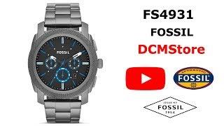 FS4931 Fossil Machine Chronograph Smoke ...... DCMStore