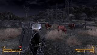 Fallout  New Vegas  - Masive Kill Cows