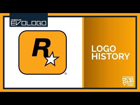 Rockstar Games Logo Compilation   Evologo [Evolution of Logo]