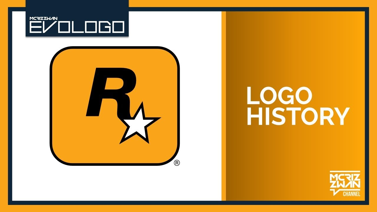 rockstar games logo compilation evologo evolution of logo youtube